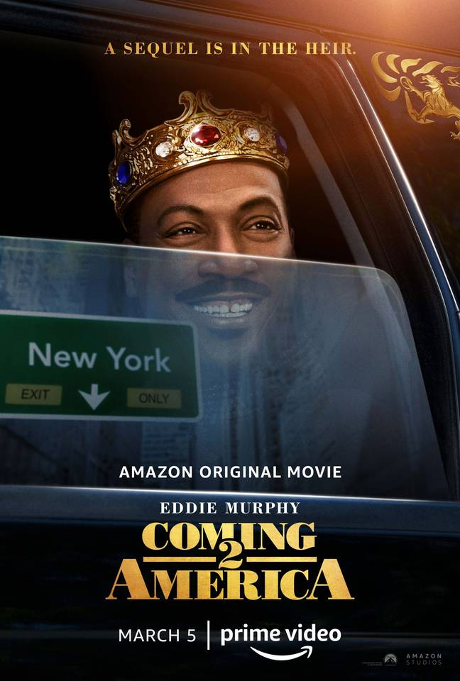 Akeem is back. Credit: Amazon Prime Video