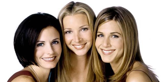 The Friends ladies in season 5. Credit: Warner Bros.