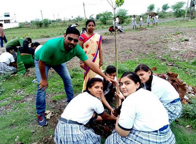 Millions of trees planted