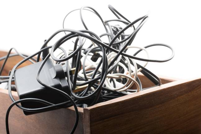 How many of you will admit to having a drawer that looks a bit like this? Credit: Alamy