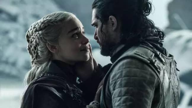 Daenerys Targaryen and Jon Snow. Credit: HBO