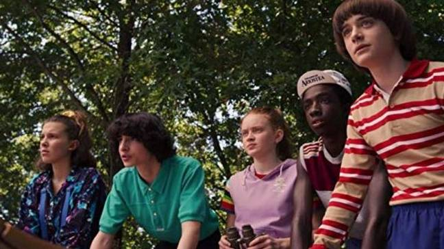 The creators of Stranger Things say season four would 'feel very different'. Credit: Netflix