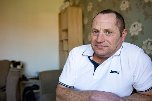 Dave Hazel lost £15,000 to the cruel scammer. Credit: Caters