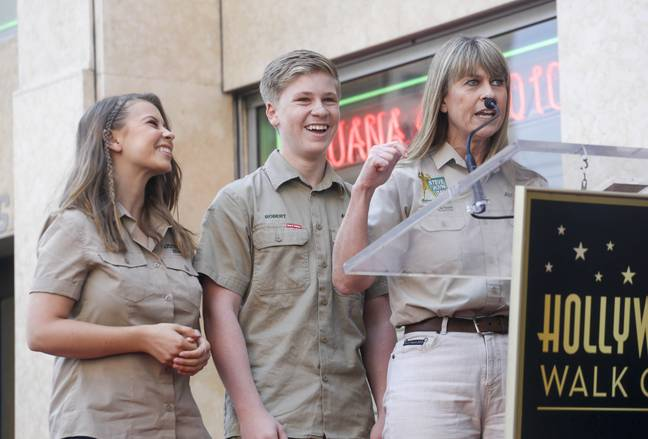 Bindi and Robert Irwin have carried on his legacy. Credit: PA