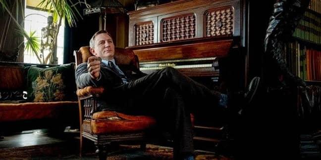 Daniel Craig as Detective Benoit Blanc. Credit: Lionsgate