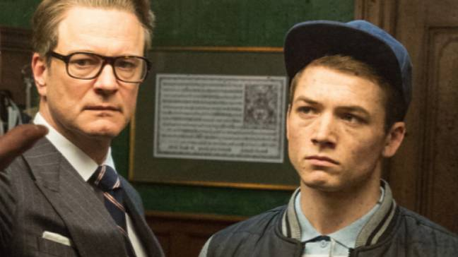 Neither Taron Egerton nor Colin Firth look likely to return for the third Kingsman film. Credit: 20th Century Fox