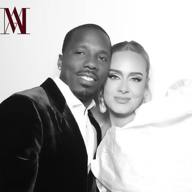 Adele and Rich Paul. Credit: Instagram/Adele