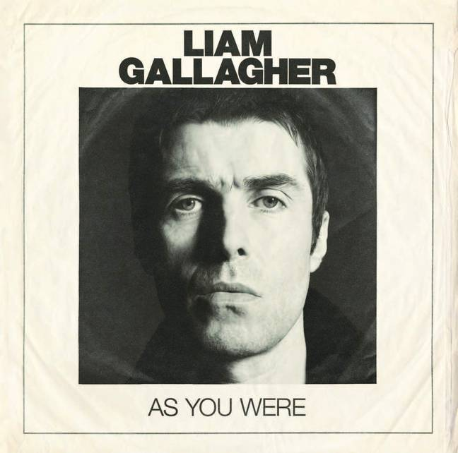 Liam Gallagher's New Album 'As You Were'. Credit: Warner Records