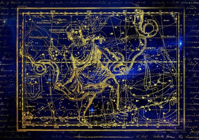 The constellation of Ophiuchus. Credit: Pixabay/DarkWorkX