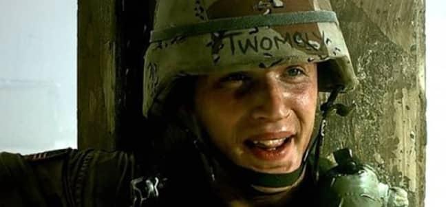 Tom Hardy Black Hawk Down