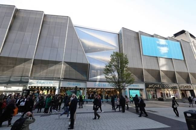 Outside the world's biggest Primark. Credit: PA