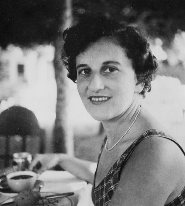 Alice Frank Stock as a young woman. Credit: SWNS