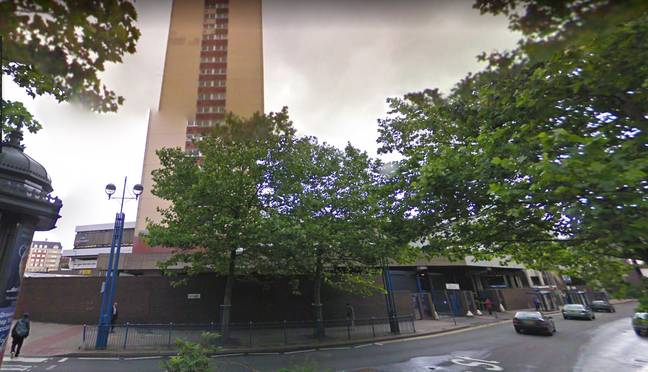 Birmingham before Grand Central station in July 2009. (Credit: Google Maps)