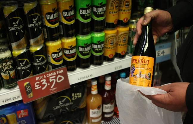 Make sure you drink responsibly if you're celebrating World Buckfast Day today. Credit: PA