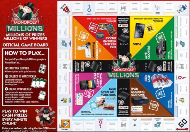 McDonald's Monopoly is to return this summer, too. Credit McDonald's