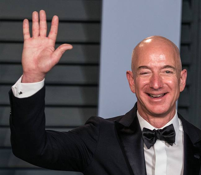 It's never bothered Bezos. Credit: PA