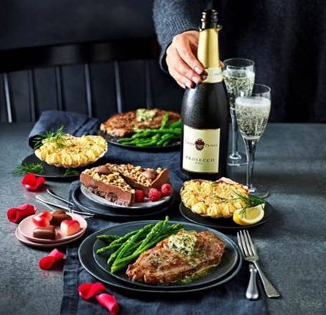 This could be you come 14 February. Credit: M&S