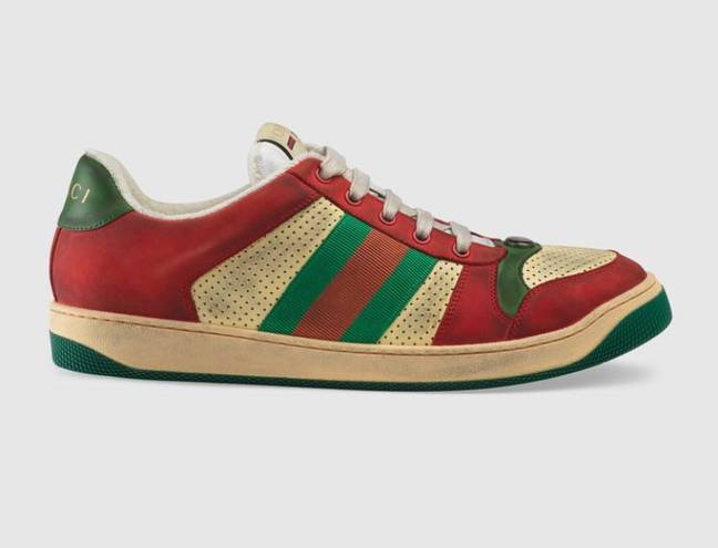 What about in red? Credit: Gucci
