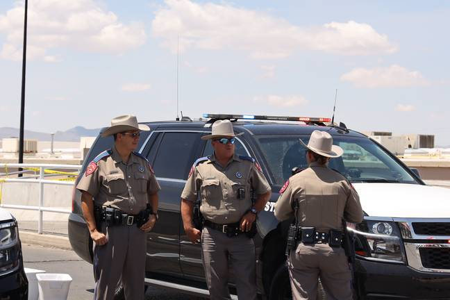 A gunman killed 22 people in El Paso on Saturday. Credit: PA