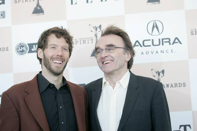 Aron Ralston with 127 Hours director Danny Boyle. Credit: PA