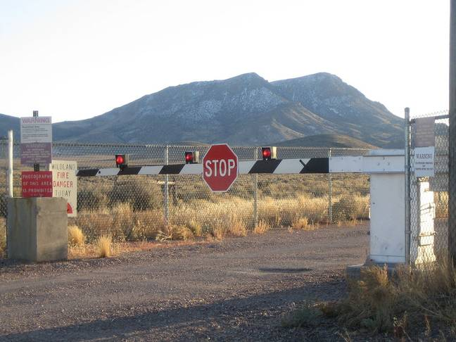 People have understandably been discouraged from attempting to storm Area 51. Credit: Wikimedia Commons