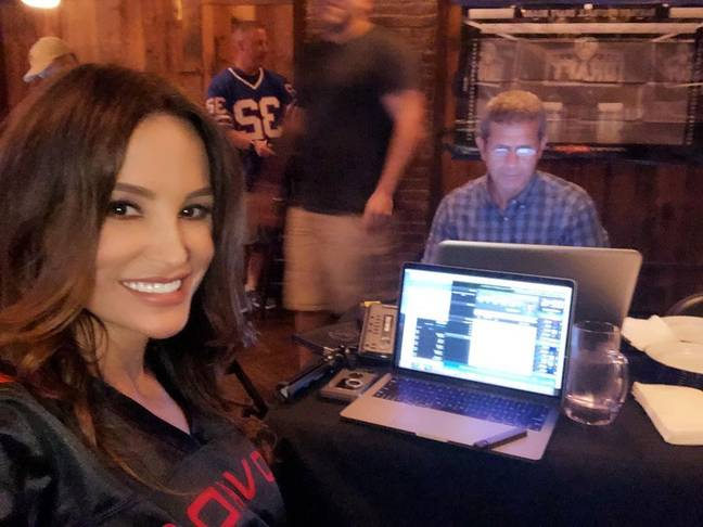 Since leaving her career in porn, Lisa has followed her passion for sports, hosting a Fantasy Sports podcast on SiriusXM. Credit: Instagram/Lisa Ann