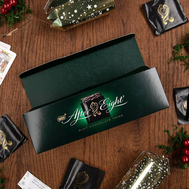 After Eights are a staple at Christmas. Credit: Nestlé/After Eight Facebook