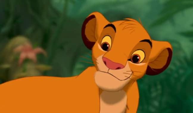 Young Simba. Credit: Disney