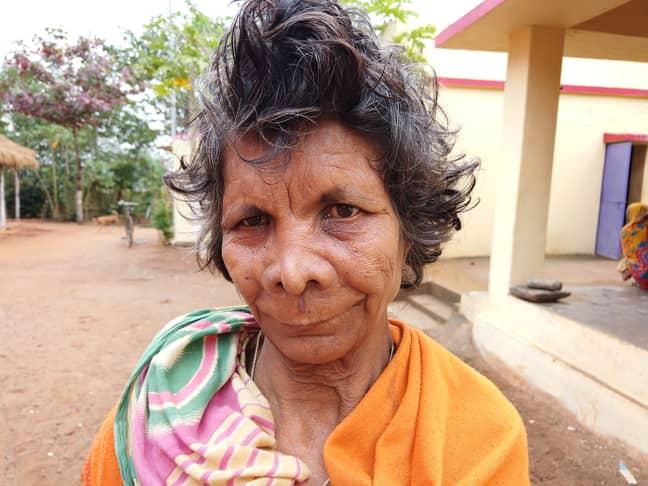 Kumari says she feels like she has to stay inside. Credit: SWNS