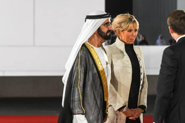 Dubai ruler Sheikh Mohammed bin Rashid Al Maktoum - reported to be Latifa's father. Credit: PA