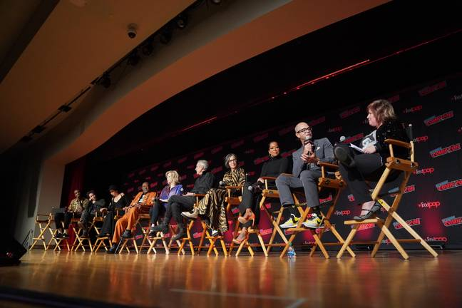 The cast includes Regina King, Tim Blake-Nelson, Jeremy Irons and Jean Smart. Credit: PA