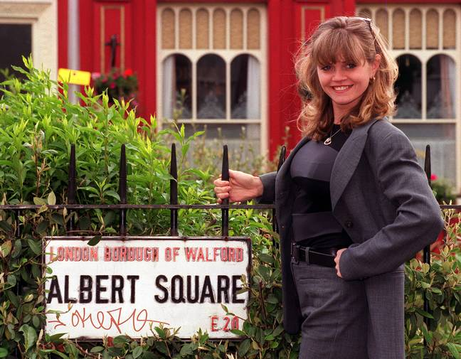 The former EastEnders star suffered the complete erosion of her nasal septum. Credit: PA