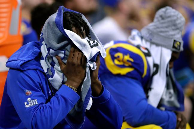 It wasn't to be for the Los Angeles Rams. Credit: PA
