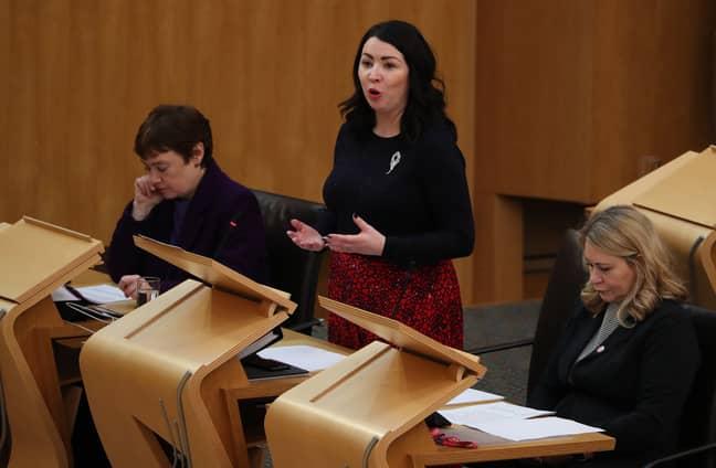 Scottish MP Monica Lennon. Credit: PA