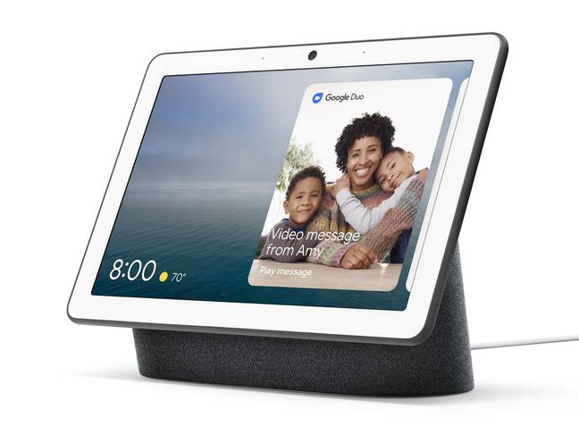The new model features a larger display Credit: Google
