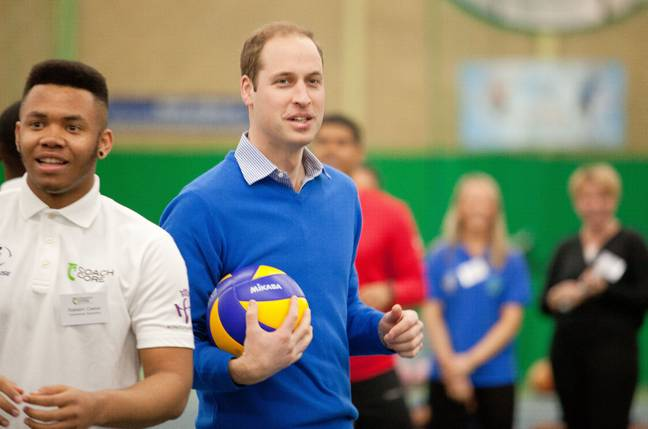 Really, Prince William? Credit: PA