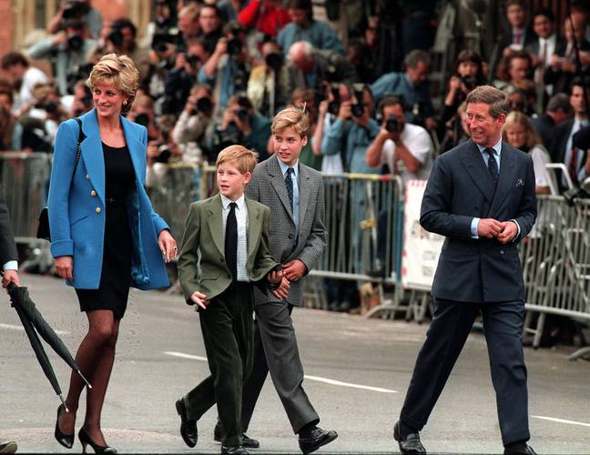 Prince Harry recently spoke about the impact his mother's death had on him. Credit: PA
