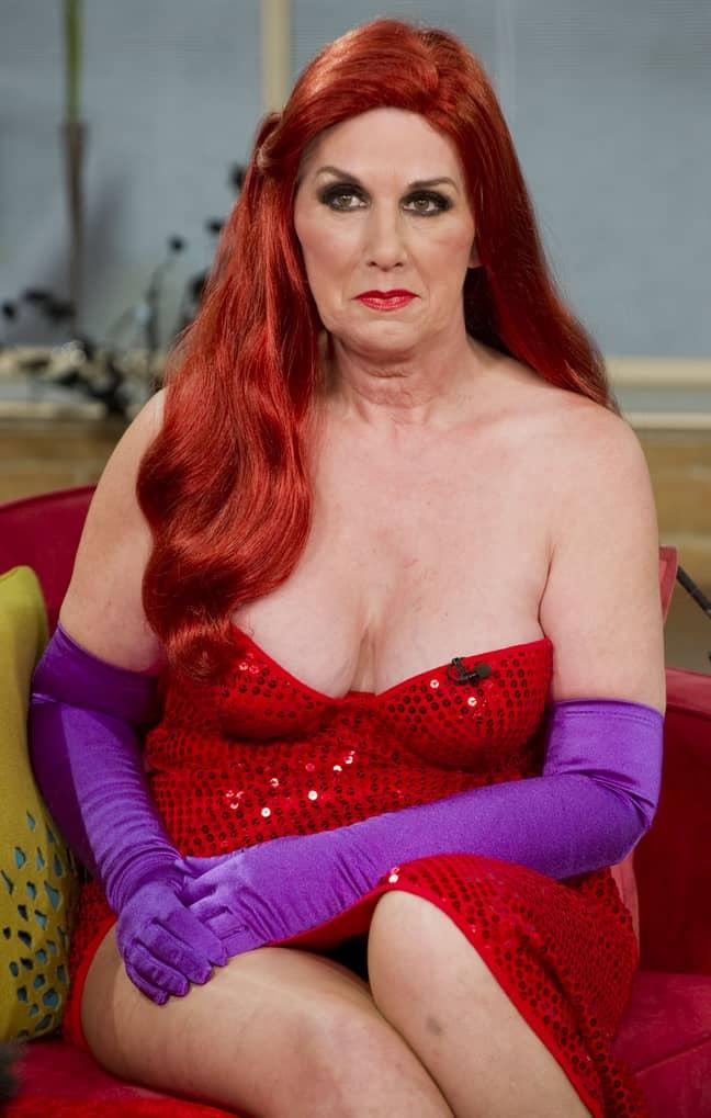 Annette Edwards spent £10,000 on surgery to look like Jessica Rabbit. Credit: Ken McKay/Shutterstock