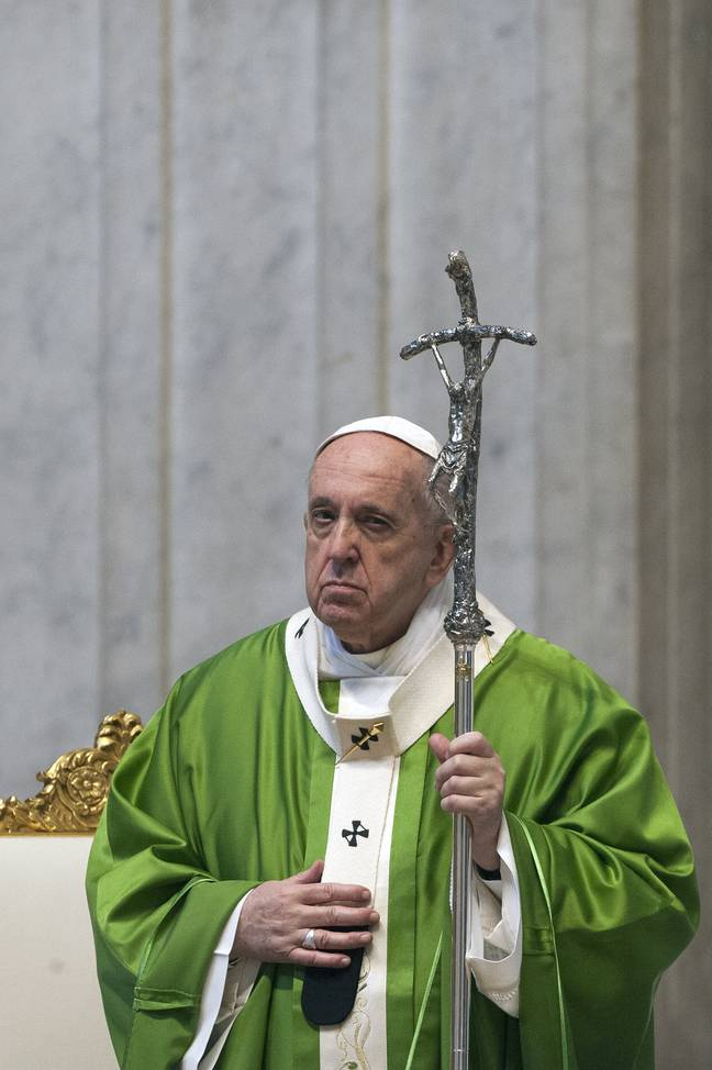 An investigation has reportedly been launched into activity on the Pope's Instagram account. Credit: PA