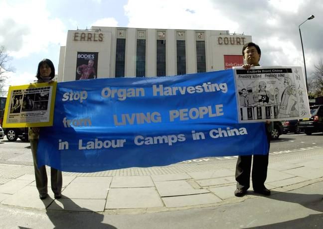 The tribunal found that the Chinese government has been extracting organs from living members of the Falun Gong spiritual group for at least 20 years. Credit: PA