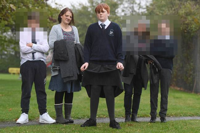 Mum Lizz Mayer has started a petition over the new uniform policy. Credit: Cambridge News/BPM MEDIA
