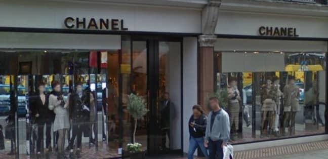 The Chanel shop on Sloane Street. Credit: Google Maps