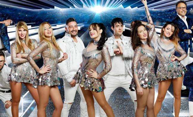 Joana Sainz (far right) died while performing with Super Hollywood Orchestra. Credit: Super Hollywood Orchestra