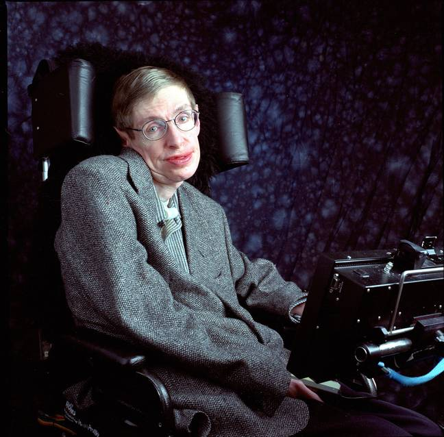 Hawking in 1988. Credit: PA