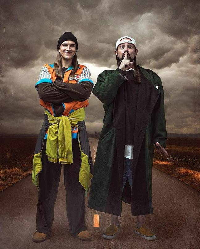 Jay and Silent Bob Reboot will start filming next month. Credit: Saban Films/Universal