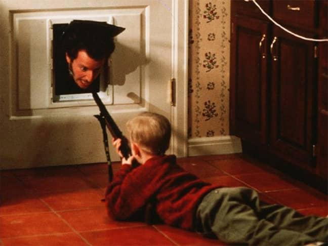 Home Alone shooting scene