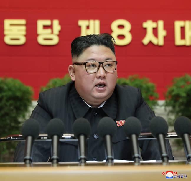 Kim Jong-un in January 2021