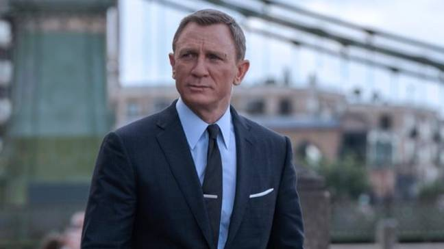James Bond in No Time To Die. (Credit: 007.com)