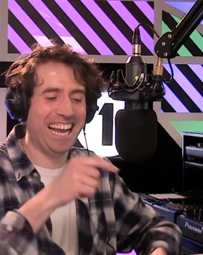 Nick Grimshaw on BBC Radio 1 (Credit: Instagram/nicolasgrimshaw)
