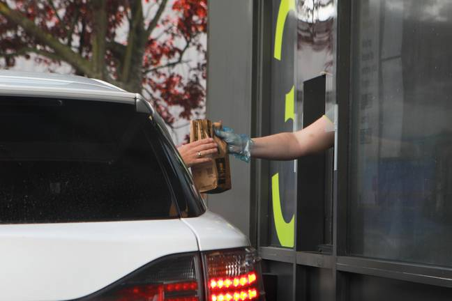 McDonald's will remain open after 10pm, but only in a delivery and drive-thru capacity. Credit: PA